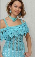 FREE ENGLISH PATTERN bySweet Nothings Crochet: OFF THE SHOULDERS TOP