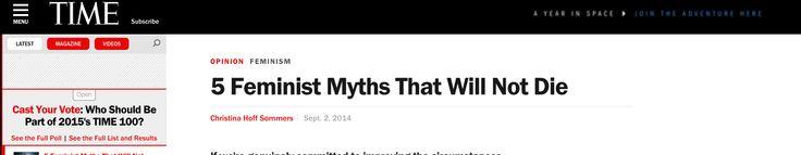 Feminism Myths