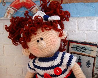 Knitting Patterns For Dolls Houses : 362 best images about Dolls wear on Pinterest Amigurumi doll, Doll outfits ...