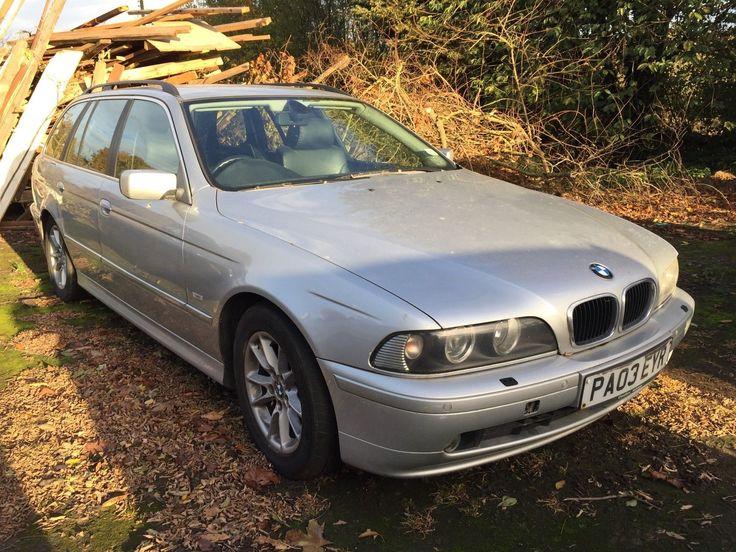 eBay: BMW 530D SE TOURING FOR SPARES OR REPAIR #carparts #carrepair