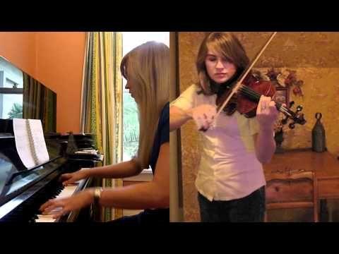 Morrowind/Skyrim Theme Piano Violin Medley - Taylor Davis and Lara