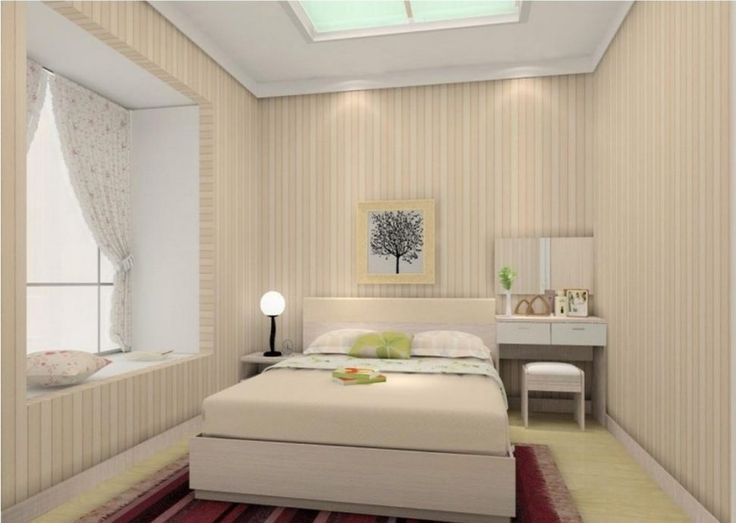 bedroomtiny bedroom decoration with stripes wall and cool lighting idea options for having the - Cool Bedroom Lighting Ideas