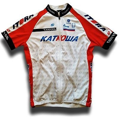 """2014 team #katusha full zip pro tour #decca cycling jersey #(label: xxl) 42"""" ches,  View more on the LINK: http://www.zeppy.io/product/gb/2/201784749490/"""