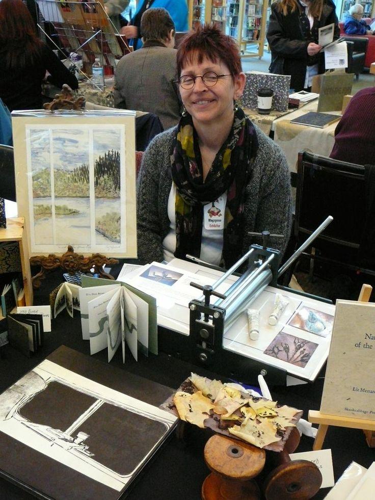 Liz Menard, printmaker, Toronto, Ont. Photo by Don McLeod.
