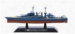 Eaglemoss EMGC73 US Navy Colorado Class Battleship - USS West Virginia (BB-48) [With Collector Magazine] (1:1100 Scale)