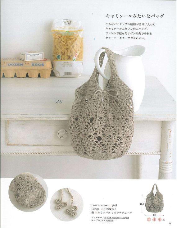 33 Crochet Bag Patterns Crochet Bags Crochet by LibraryPatterns