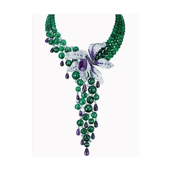 CARTIER卡地亚 源源不绝东方美(第1页)_奢侈品_MSN中国 ❤ liked on Polyvore featuring jewelry, necklaces, accessories, collane, gioielli, cartier jewelry, cartier necklace and cartier jewellery