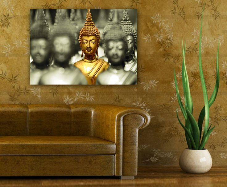 obraz z Buddą do salonu