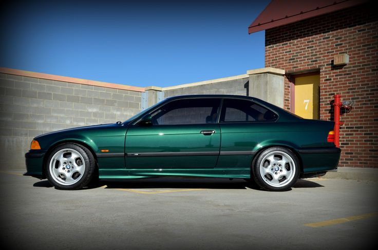 Fern Green is a nice color!  20k-Mile 1999 BMW M3 5-Speed | Bring a Trailer