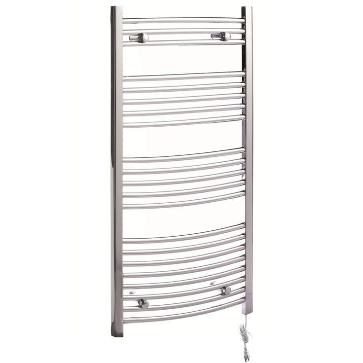壁掛けタオルウォーマー タオルヒーター タオルハンガー+簡易乾燥 #304ステンレス鋼 クロム 260W