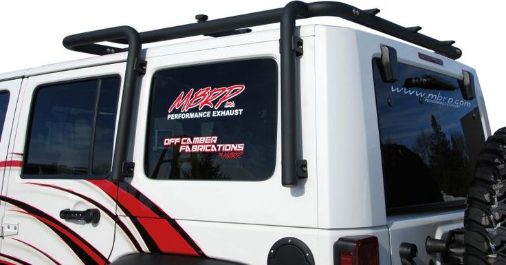 Off Camber Fabrications 130717 - Off Camber Fabrications JK Roof Rack System for 07-10 Jeep® Wrangler Unlimied JK 4 Door with 3 Piece Freedom Top™ - Quadratec