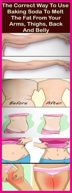 The Correct Way To Use Baking Soda To Melt The Fat From Your Arms, Thighs, Back And Belly – Let's Tallk