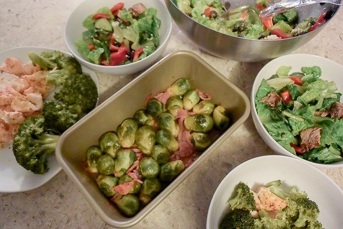 Bring on the Greens and Lean Proteins – Meal Prepping Edition #mealprep…