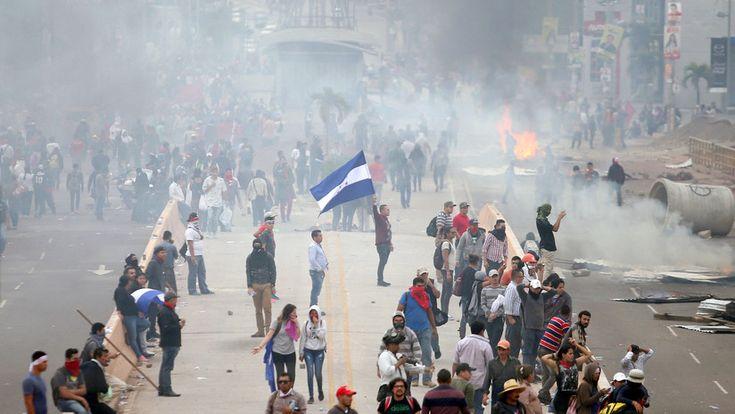 ICYMI: Honduras: Opositores son reprimidos en medio de protestas que denuncian fraude electoral