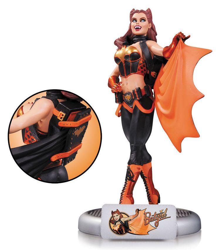 DC Comics Bombshells Statue Halloween Batgirl 27 cm