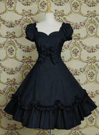 Gothic Rare New Lolita Costume Japan Handmade Hell Pretty Corset Bunny Dress EMO