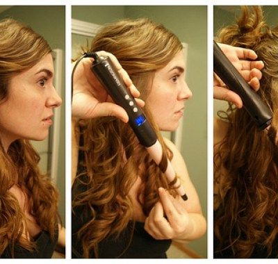 Wavy Hair With Curling Wand