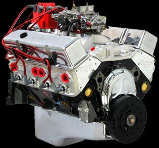 The engine. Chevy 383 stroker built by Smeding performance.