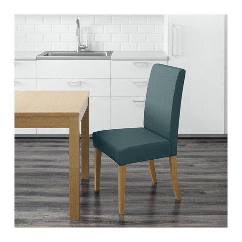 HENRIKSDAL Stoel - Finnsta turkoois, - - IKEA