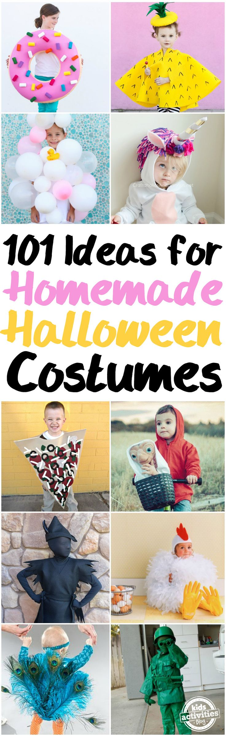 Homemade Halloween Costumes via @hollyhomer