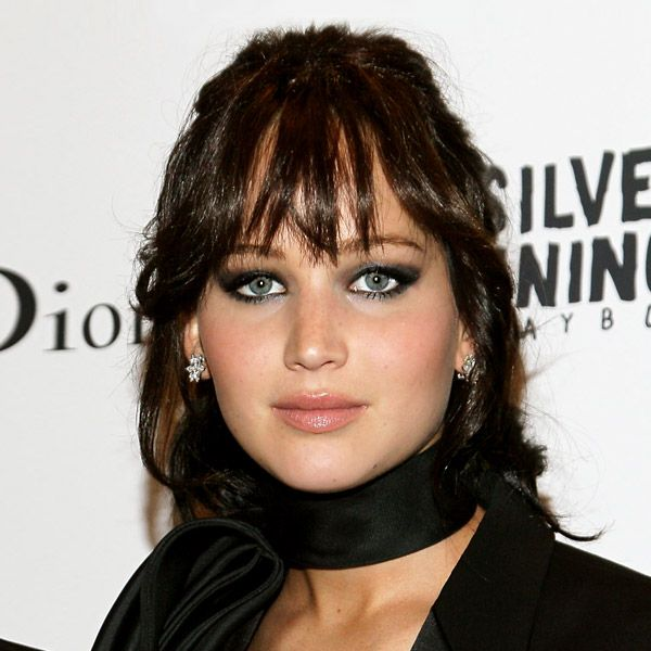 Jennifer lawrence black hair