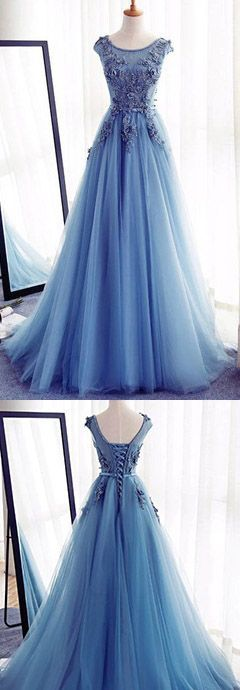 prom dresses,A-Line Prom Dresses,Long Prom Dresses 2017,Cheap Prom Dress, Evening Dresses Prom Gowns,Formal Women Dress,cap sleeve prom dress
