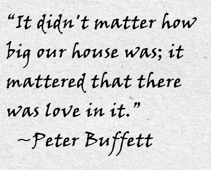 Peter Buffett Quote About Love