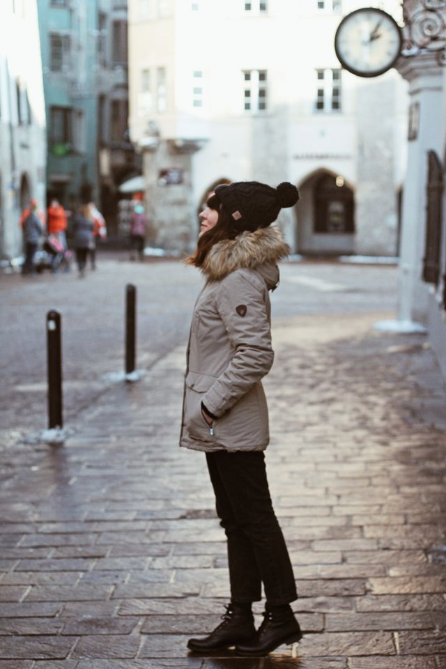 Winter outfit / parka