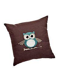 Spencer Applique Owl Decorative Pillow