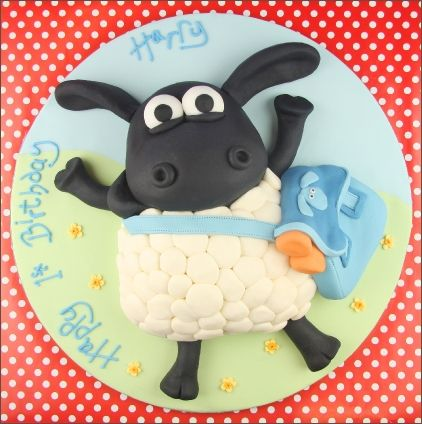 With Shaun the Sheep movie popular among little ones, this cake could work well for a children's party. The wool can be made with marshmallows. #lamay http://www.bidorbuy.co.za/seller/1047710/La_May_Variety