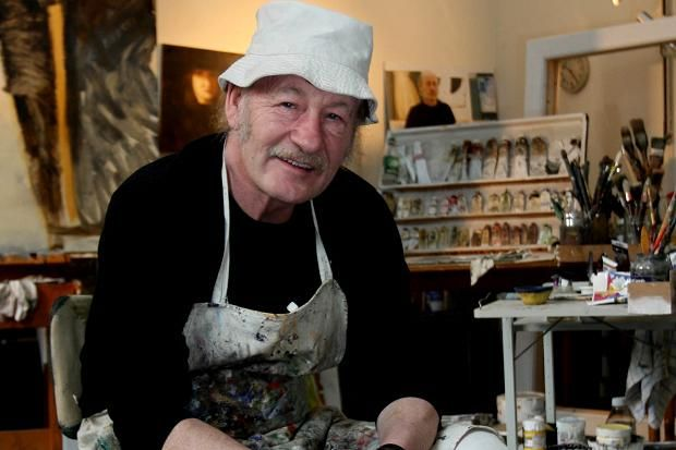 Irish Artist John Shinnors  (born  Limerick 1950-)