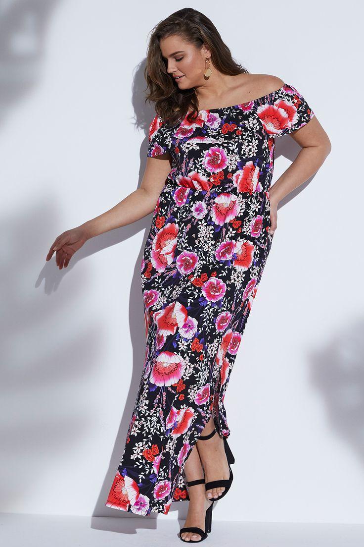 Offshoulder-Kleid aus der Anna Scholz Kollektion