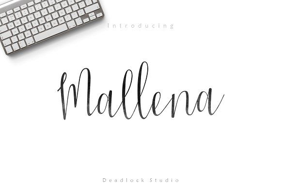 Mallena by deadlock studio on @creativemarket