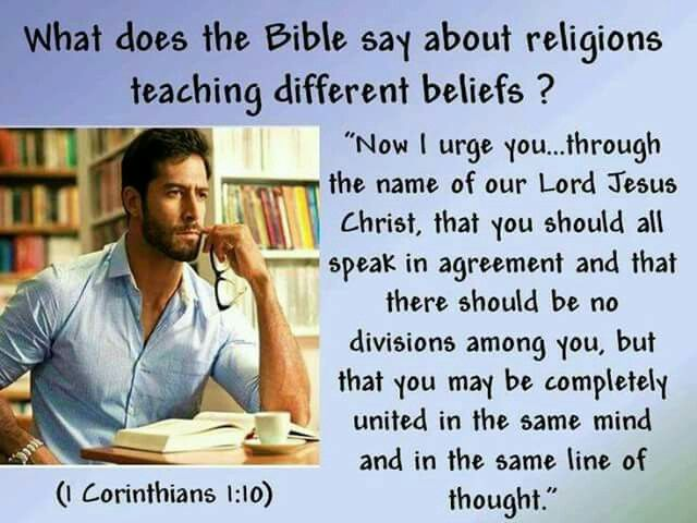 religion and the different beliefs Other religions do not believe that jesus christ is of the aspirations and hopes of other beliefs – includes sections on different religions.