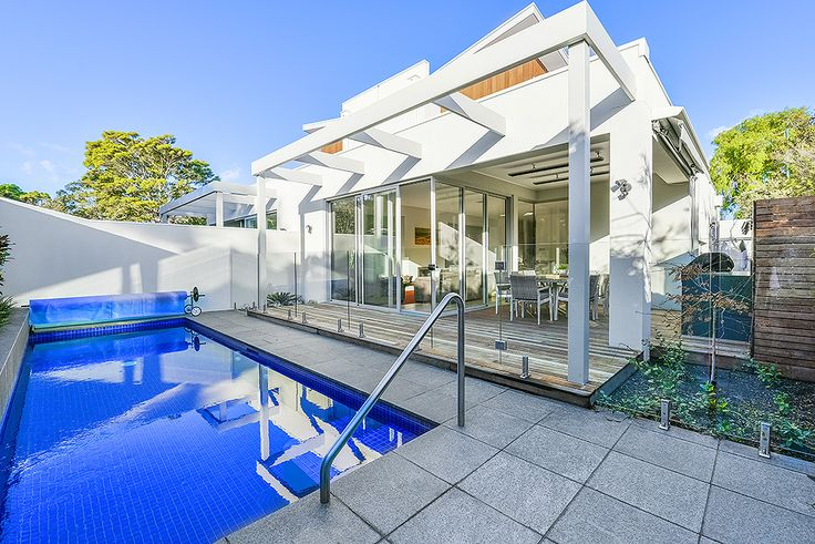 Sandy House, a Luxico Holiday Home - This holiday home with pool in Sandringham was newly built in 2014, and lets you take total advantage of the glorious Melbourne climate through a combination of clever design and high-end features. Coastal living at its best, as soon as you set foot in this property you'll be blown away by the feeling of light and space within the contemporarily designed townhouse - Book it here: http://luxico.com.au/sandyhousemelbourne