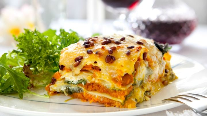 This vegetable lasagne is a great twist on the traditional meat lasagne plus it's also good for you!