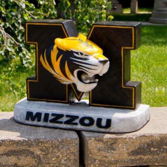 Missouri Tigers Mascot Garden Statue