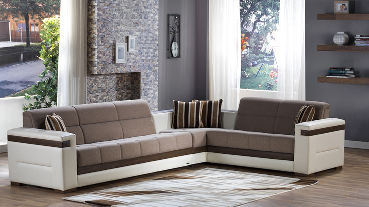 Leather Sofas Moon Sectional Sofa Bed in Platin Mustard by Istikbal Sectional Sofas by Istikbal Furniture Pinterest Sectional sofa Mustard and Large sectional