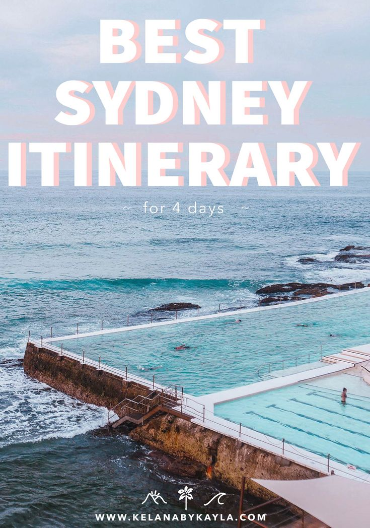 Sydney Itinerary for 4 Days- A Complete Guide to Sydney, Australia
