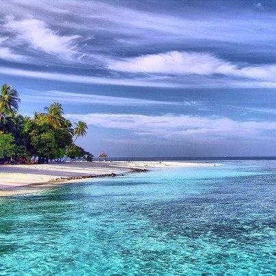 Kuda Bandos Beach, Maldives