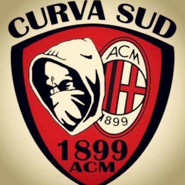 curva sud - Logo - Foto dell' AC Milan, la gallery di foto più ampia dei tifosi del Milan. Condividi le tue foto del AC Milan.