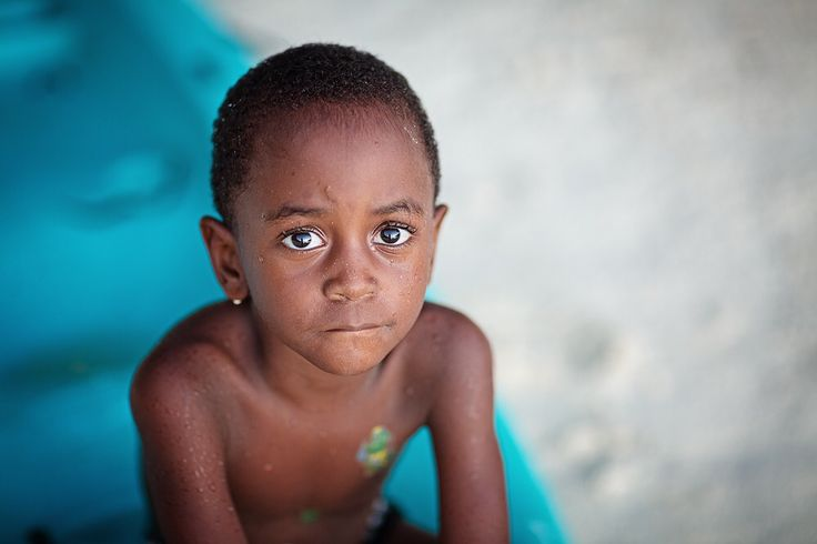 Seychelles. Children's photographer.