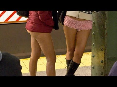 11th Annual No-Pants Subway Ride in NYC