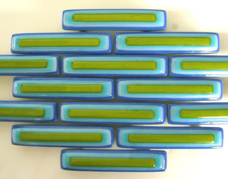 Glass Tile, Accent Tile, Backsplash Tile by Uneek Glass Fusi