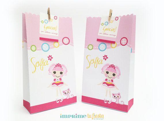 Bolsas para Sopresas de Cumpleaños  Diseño por ImprimeTuFiesta