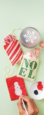 Martha Stewart Crafts™ #Christmas Treat Bags #holiday #gift
