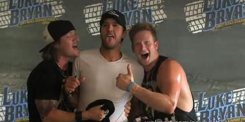 3 Perfect gentlemen #tyler hubbard #lukebryan #brian kelley