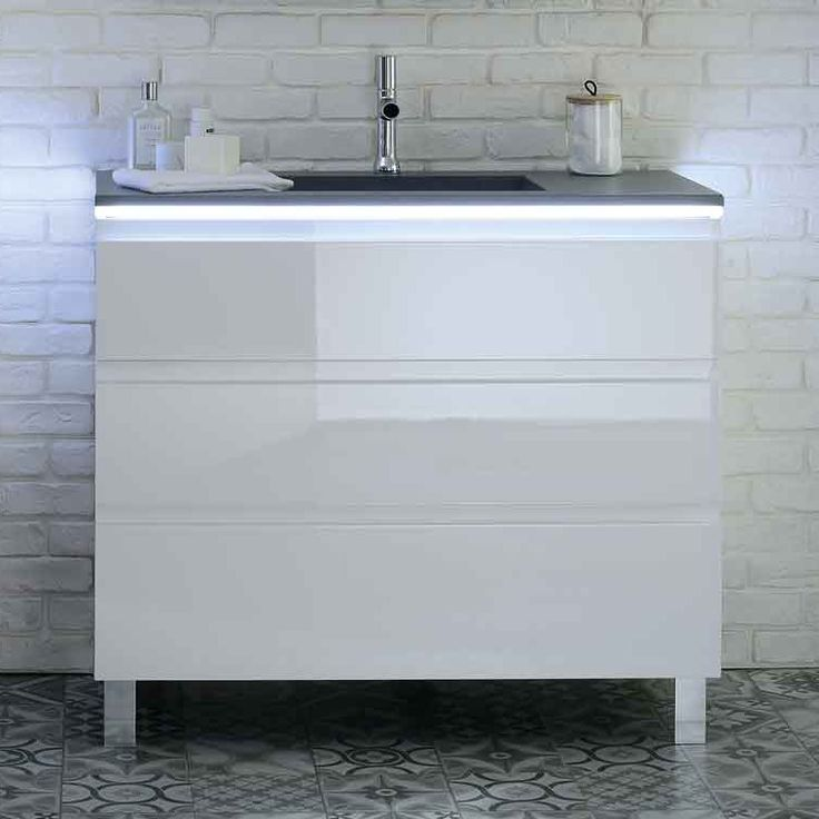 meuble vasque salle de bain Halo Sanijura