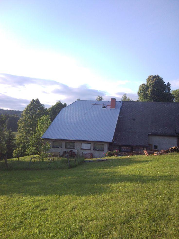 Rekonstrukce šikmé střechy #RekonstrukceDomu
