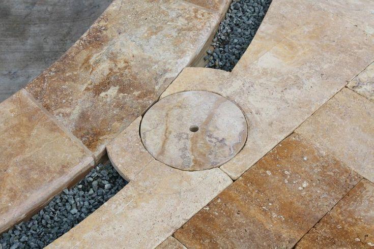 how to cut travertine stone